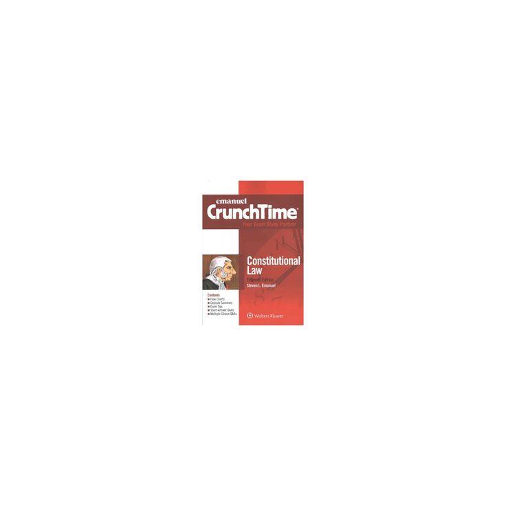 Constitutional Law (Paperback) (Steven L. Emanuel)