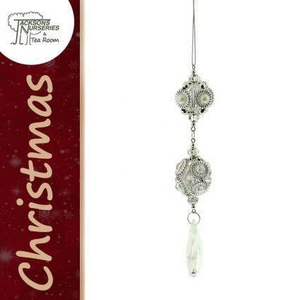 Buy Acrylic Droplet Christmas Tree Decoration online at Jacksons Nurseries