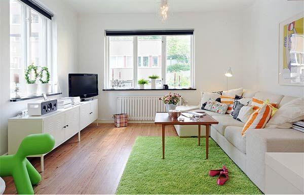 41 sq m apartment in Vaasa.