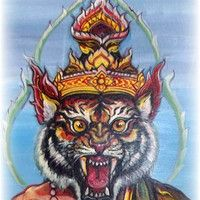 Kata Ruesi Hnaa Suea - Incantation for the Tiger Face Lersi Hermit by Ajarn Spencer Littlewood on SoundCloud