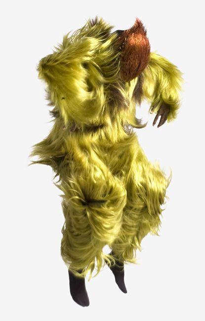 Nick Cave. Sound suit