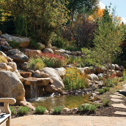 1000 ideas about sloped backyard landscaping on pinterest for Garden designs for steep slopes