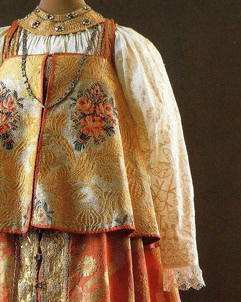 конечно русский народный костюм душегрея картинки хронического фарингита схожи