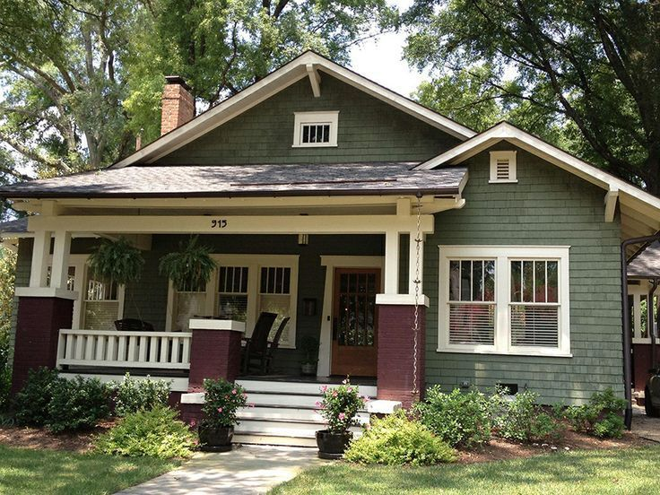 arts and crafts home exterior paint colors | Found on homeremodelnote.com
