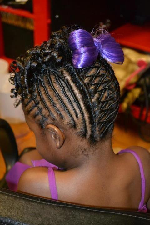 Kids Braids Hair Styles Pinterest Updo Wedding And