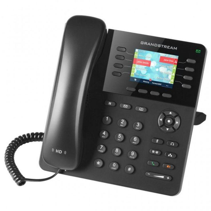 Grandstream GXP2135 GXP2135 Этот IP-телефон корпоративного уровня имеет до 8 линий /клавиш и 4 SIP аккаунта, цветной ЖК-дисплей размером 2,8 дюйма и звук формата full HD. В модели GXP2135 предусмотрены до 32 цифровых экранных клавиш быстрого набора /клавиш BLF, которые позволяют пользователям работать более продуктивно и эффективно. Данный корпоративный IP телефон поддерживает самые быстрые скорости соединения с двойными Гигабитными сетевыми портами Dual Gigabit, в нем также имеется…