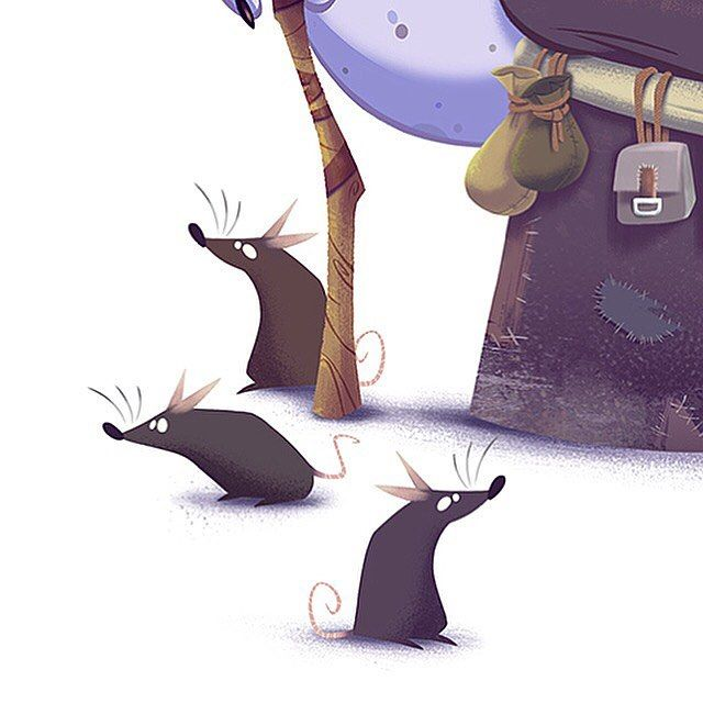Deatils on the rats  #luisgadea #gadea #illustration #instaartist #rats #animals #cartoons #drawings #dibujos #digitalart #art #arte #vancouver #canada #costarica #robinhood #mastersofanatomy by luisgadea