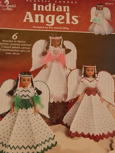 Annie S Attic Indian Angels 15 Quot Doll Dress Plastic Canvas