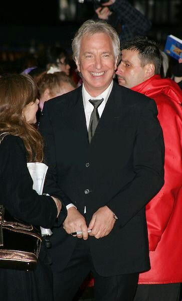 "Alan Rickman at the London premiere of ""Sweeney Todd: The Demon Barber of Fleet Street."" 2007"