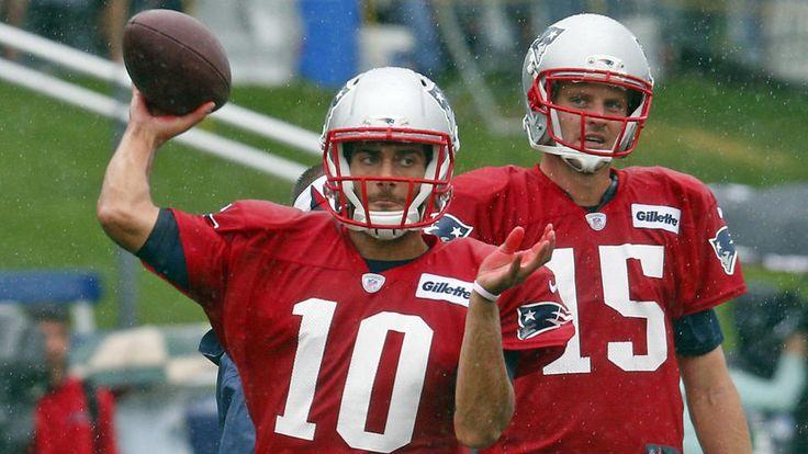 Patriots quarterbacks take spotlight - BOSTON HERALD #Patriots, #Eagles, #Sport