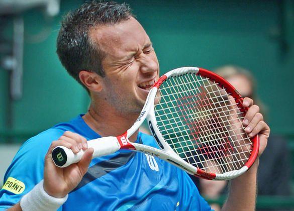 27-Jähriger verliert gegen den Kolumbianer Alejandro Falla : Kohlschreiber verpasst Finale bei den Gerry Weber Open