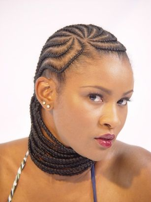 Brilliant 213 Best Images About Hair On Pinterest Flat Twist African Hair Short Hairstyles For Black Women Fulllsitofus