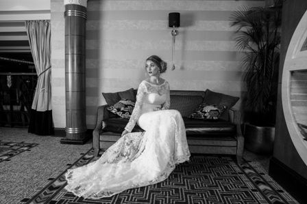 #longsleevedweddingdress #longdress #longsleeves #lace #longtrain #ingliston  photography by: http://www.duncanholmesphotography.co.uk/ location: http://ingliston.com/