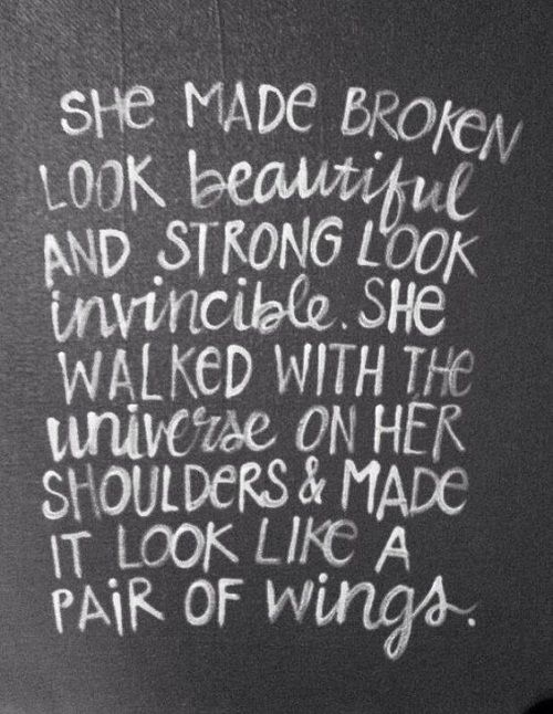 Pair of Wings Mother Quotes