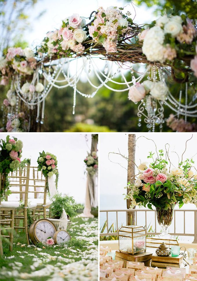 47 best images about susa wedding on pinterest blush - Decoracion boda vintage ...