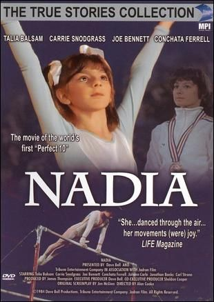 This movie is what got me hooked with gymnastics--- The Nadia Comaneci Movie