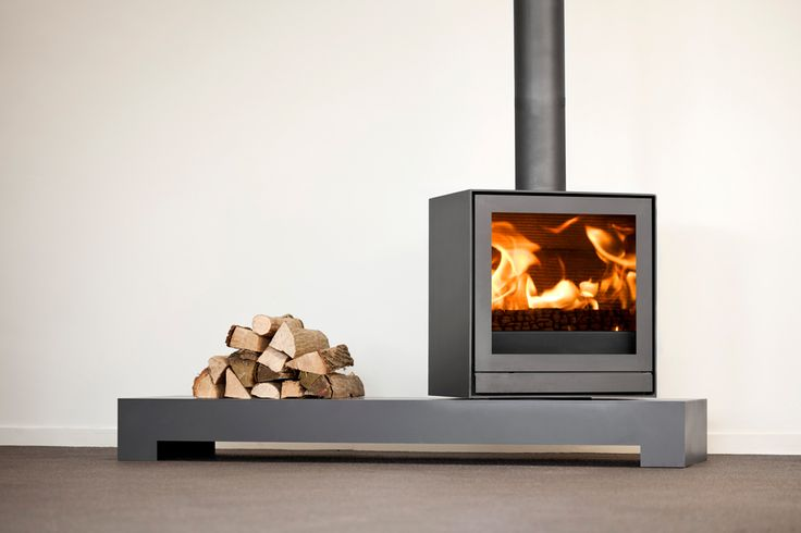 TQ33 - Nestor Martin modern fireplace which can be rotated 360 degrees