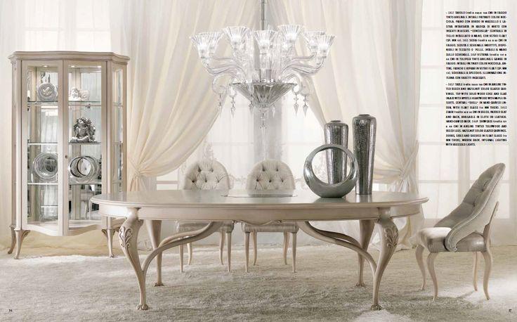 Гостиная Meroni в стиле барокко