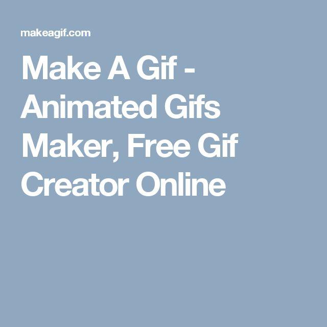 Make A Gif - Animated Gifs Maker, Free Gif Creator Online