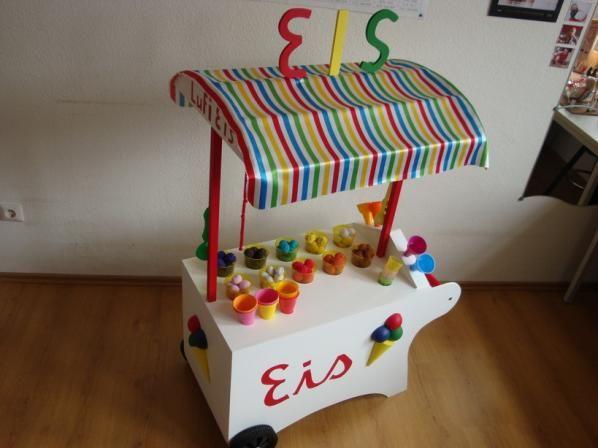 die obi selbstbauanleitungen obi kinderparadies pinterest eiswagen der traum und diy und. Black Bedroom Furniture Sets. Home Design Ideas