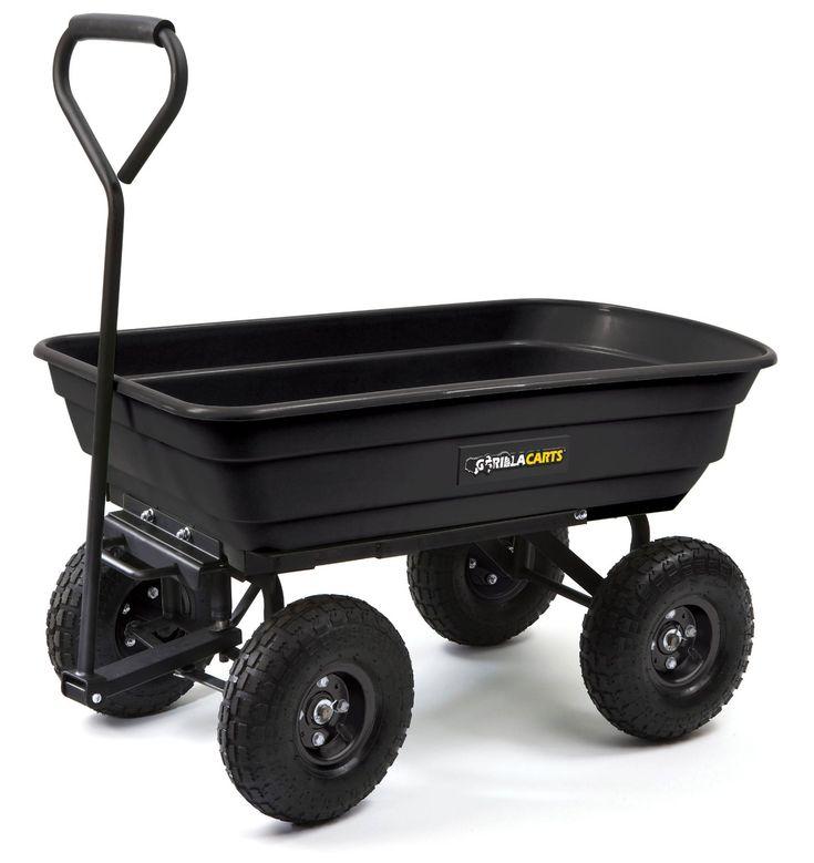 yard dump cart