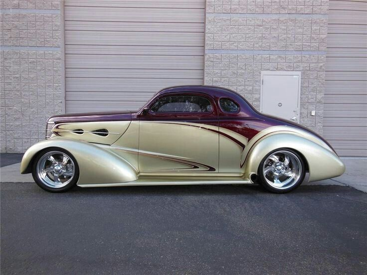 Visit The MACHINE Shop Café... ❤ Best of Hot Rod @ MACHINE ❤ (1938 Chevy Coupé…