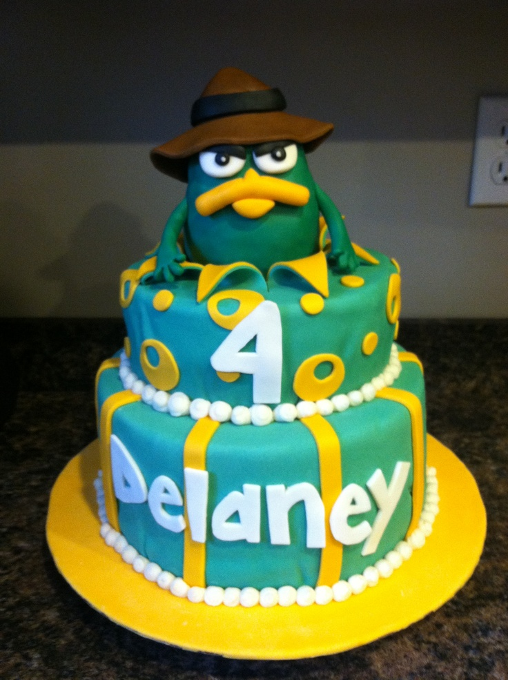 Perry Platypus Cake Perry