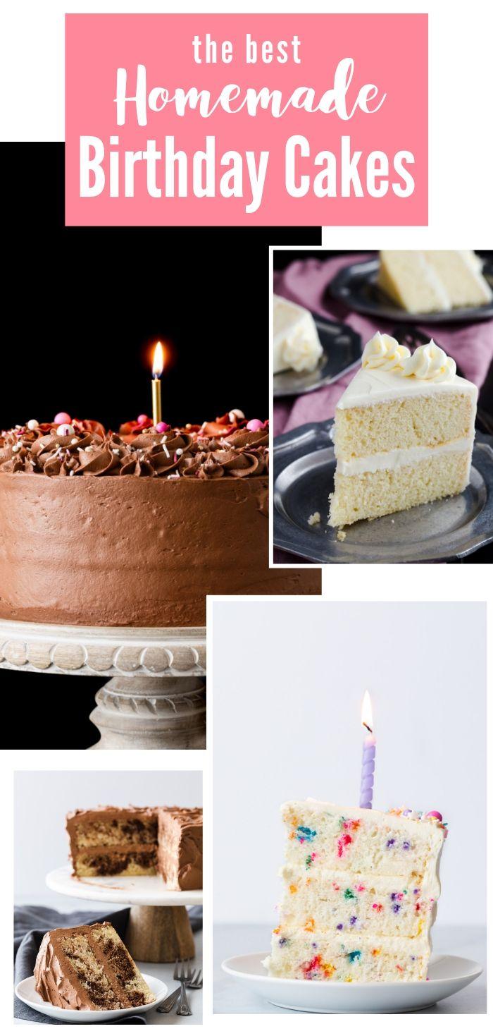 Wondrous Best Homemade Birthday Cake Recipes Cake Recipes For Kids Funny Birthday Cards Online Alyptdamsfinfo