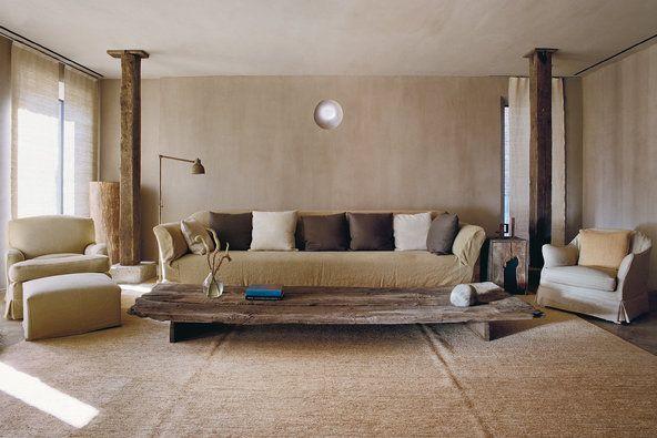 Greenwich Hotel Penthouse Living Room, Tribeca | Axel Vervoordt