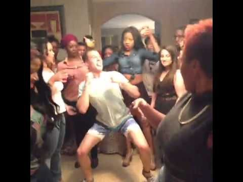 When you're the only white person at the party... - Vine Video