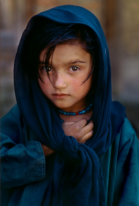 A girl from the extinct community of Renni people - Wakhan Valley, Tajik/Afghan border, Afghanistan.