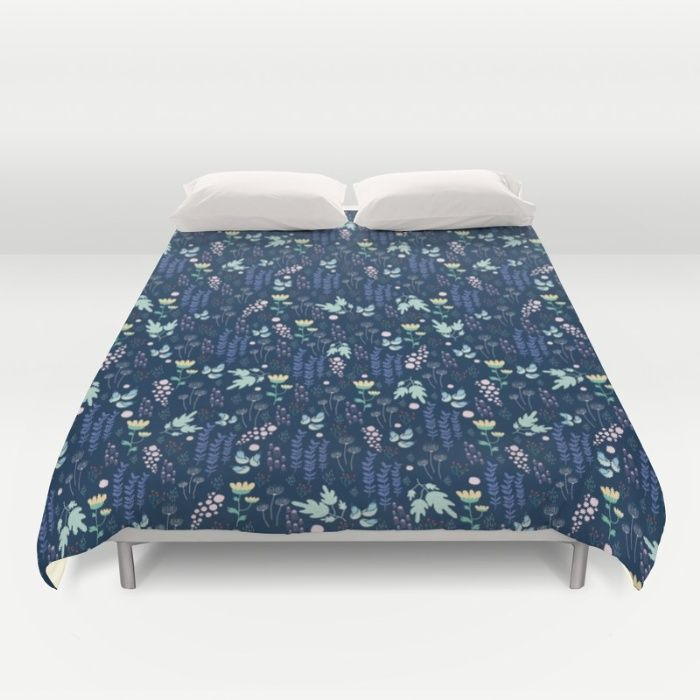 Blue water Duvet Cover