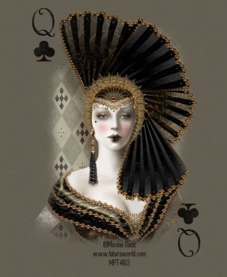 Image detail for -Maxine Gadd~Queen of Clubs