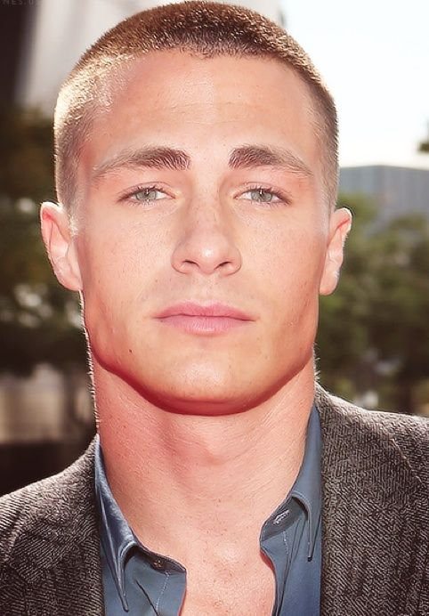 Colton Hayes. a man who works a buzz cut! well i never!