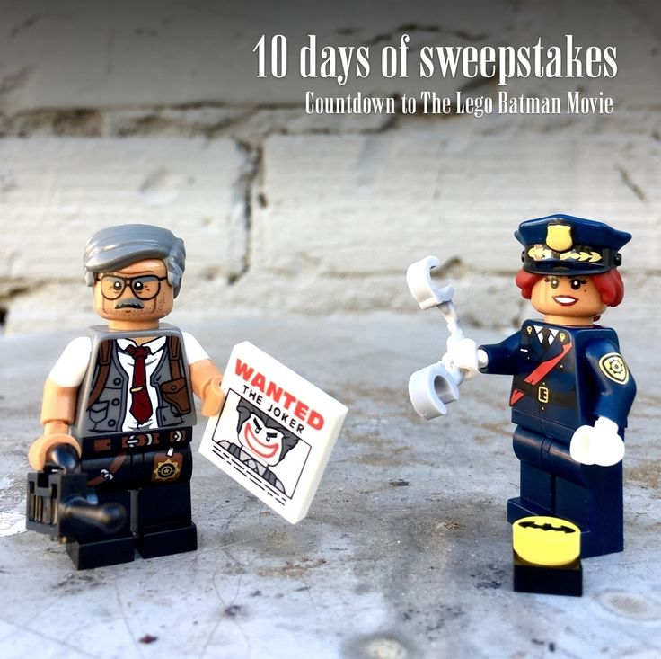 Day 5 of our 10 days of sweepstakes, counting down to The @Lego Batman movie release! Today enter to win #BarbaraGordon & #CommissionerGordon. HOW TO ENTER: 1) Follow @puzzlezootoys 2) Tag 2 friends 3) Answer here: Which villain would you rather catch? • • • ***U.S. only, no private accounts. Announcing 10 winners (two figures per winner) on February 11. This is in no way sponsored, administered, or associated with Instagram. By entering, entrants confirm they are 13+ years of age, release…