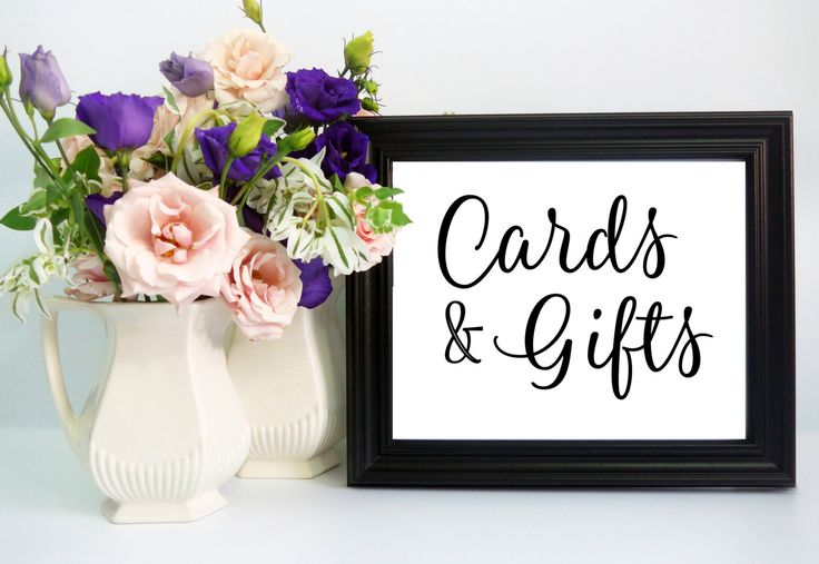 Wedding Gift Cards Online: 17 Best Ideas About Gift Table Signs On Pinterest