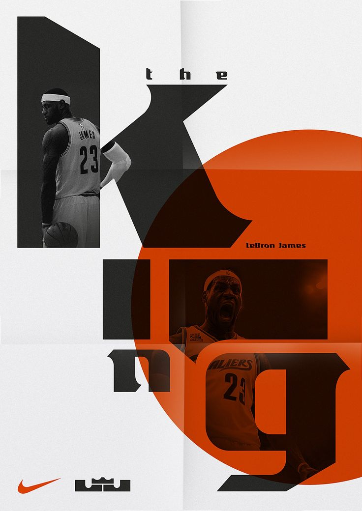 Display typeface for NBA basketball player LeBron James, an initiative that saw the font used across his Nike product range. The design of the typeface is based on LeBron's existing logo.  Client: Nike Basketball