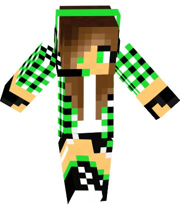 how to make a girl minecraft skin