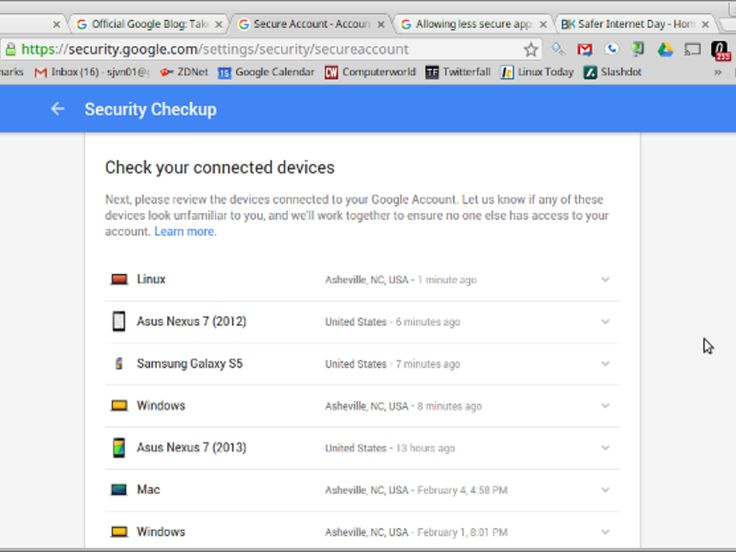 "Check your Google security and get 2 GBs on Google Drive for free. http://www.zdnet.com/article/check-your-google-security-and-get-2-free-gbs-of-google-drive-for-free/ Please ""Like,"" ""Comment,"" and ""Re-Pin"" below."