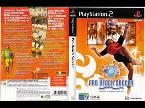 LET'S PLAY PRO BEACH SOCCER FOR PS2 EUROPE GAMEPLAY REVIEW OBSCURE RARE ...