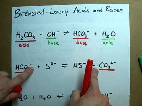 Identify Conjugate Acid Base Pairs (Bronsted Lowry)