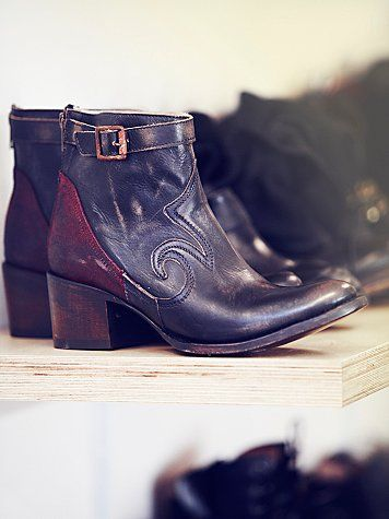 Freebird by Steven X Free People distressed leather boot