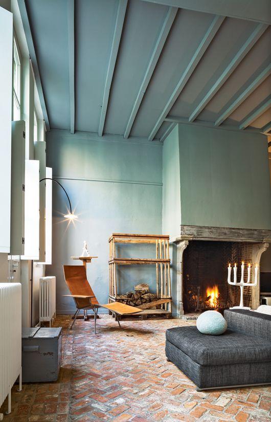 17 beste afbeeldingen over verf je plafond paint sealing op pinterest grijze muren - Verf balken ...