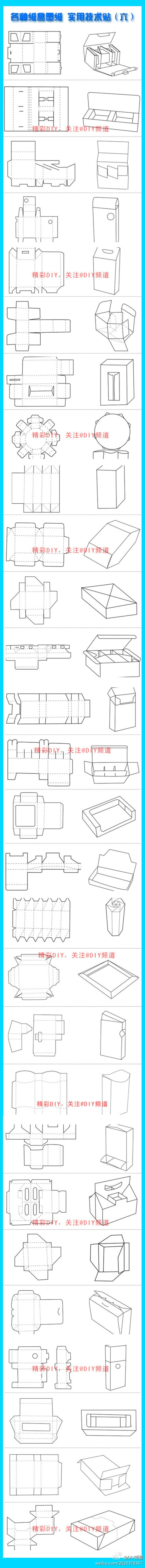 DIY Wrapping templates
