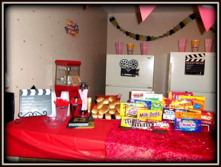 Concession Stand Movie Night Party In 2019 Movie Night