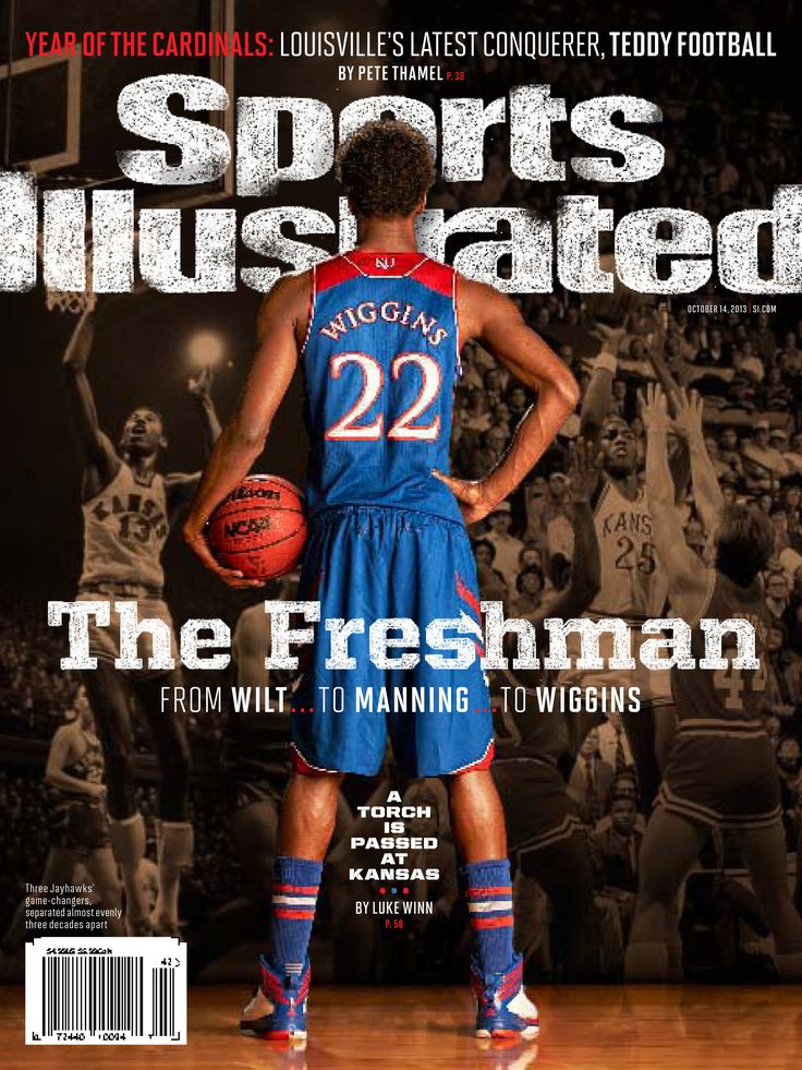 Andrew Wiggins featured on the cover of Sports Illustrated, October 2013