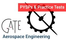 Success in GATE is largely dependent on how you attempt the exam. And to practice that, GATE Aerospace Engineering previous year question papers from iProf is a great tool.