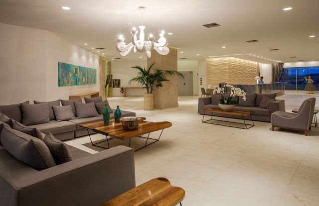 Mexil Design: Hotel Blue Lagoon Princess Halkidiki #hotel #lobby #mexil #halkidiki
