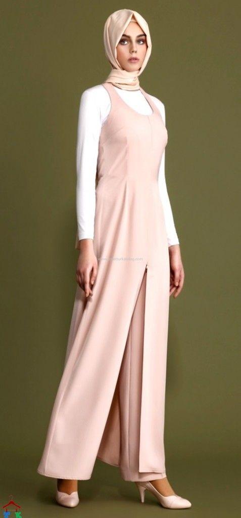 Tulum Görünümlü Tesettür Elbise