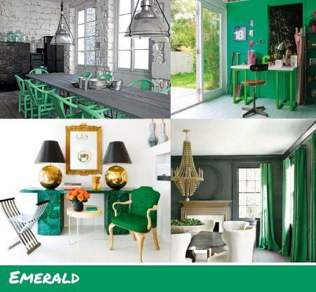 Emerald Bedroom Green Bedroom With Upholstered Headboard